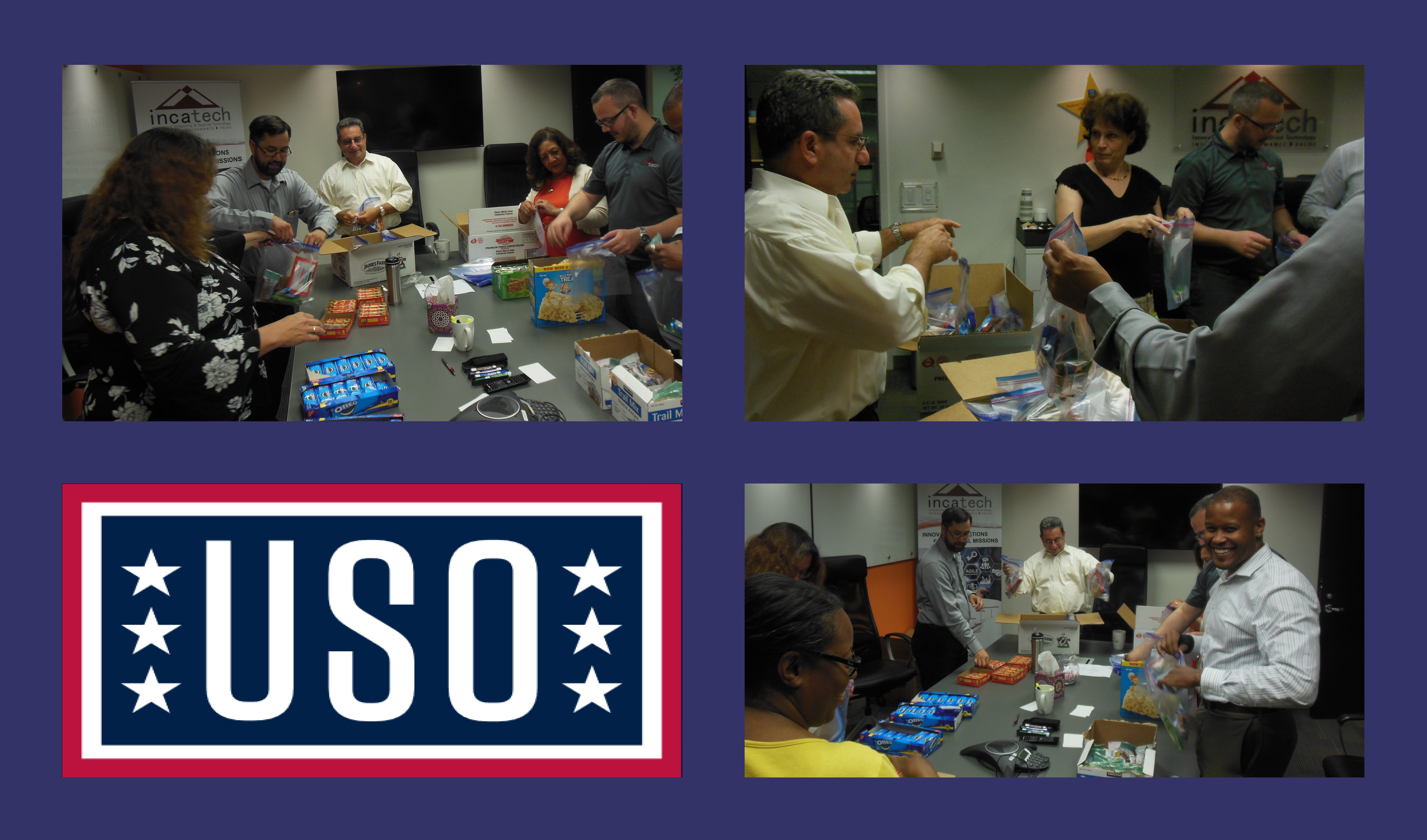 INCATech Making a Difference in our Community USO
