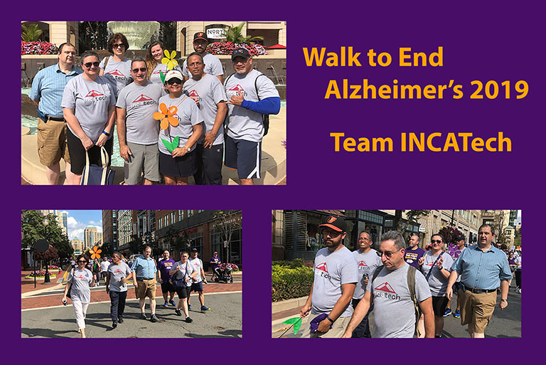 Walk to End Alzheimer's 2019 Team